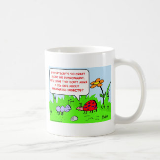 endangered insects environment coffee mug