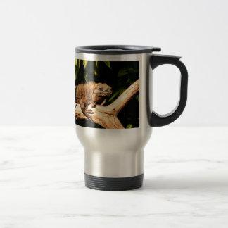 Endangered Jamaican Iguana Stainless Steel Travel Mug