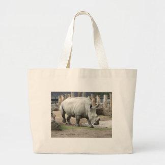 Endangered Northern White Rhinos Jumbo Tote Bag