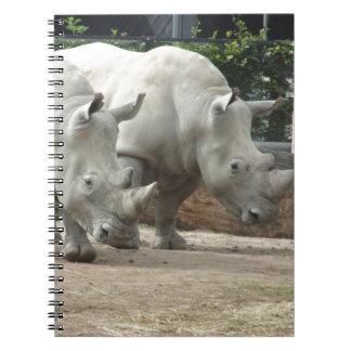 Endangered Northern White Rhinos Note Books