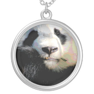 Endangered Panda Bear Wildlife Necklace