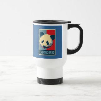 Endangered Panda Pop Art Design Coffee Mug