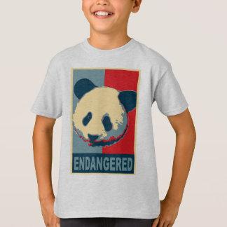 Endangered Panda Pop Art Design T-Shirt