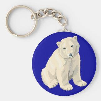 Endangered Polar Bear Key Ring