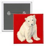 Endangered Polar Bear Pin