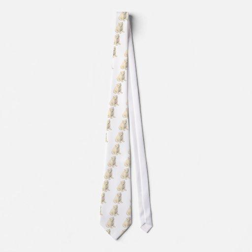 Endangered Polar Bear Tie