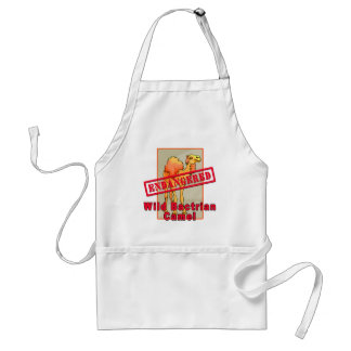 Endangered Wild Bactrian Camel Tshirts Aprons