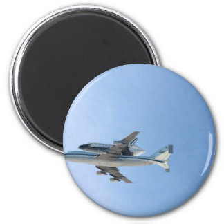 Endeavors Final Flight 6 Cm Round Magnet