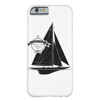 Endeavour Black Barely There iPhone 6 Case