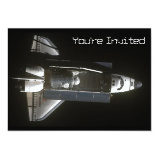 Endeavour Brings Tranquility 5x7 Paper Invitation Card