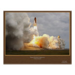 Endeavour Final Launch STS-134 Poster