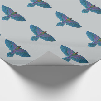 Endeavour Parrot Wrapping Paper