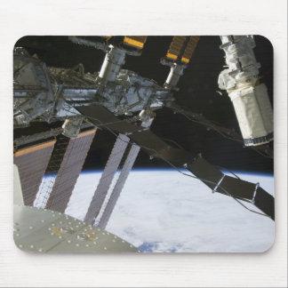 Endeavour's arm amidst International Space Stat Mousepad