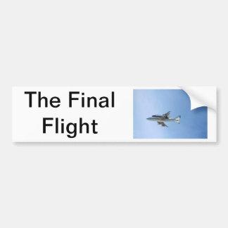 Endeavours Final Flight Bumper Sticker