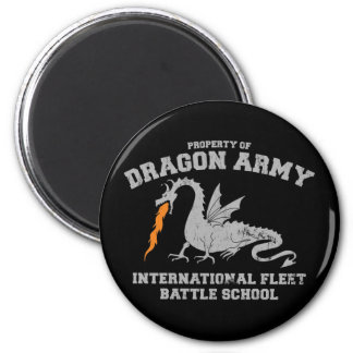 ender dragon army2 6 cm round magnet
