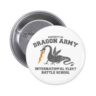ender dragon army 6 cm round badge