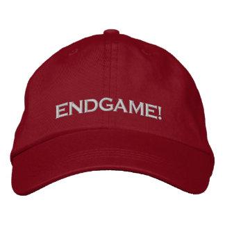 """ENDGAME!"", PC GAME PLAYER CAP EMBROIDERED BASEBALL CAP"
