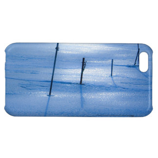 Endless blue ice cover for iPhone 5C
