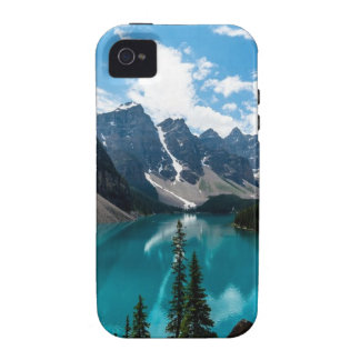Endless blue skies above majestic mountains iPhone 4/4S cases