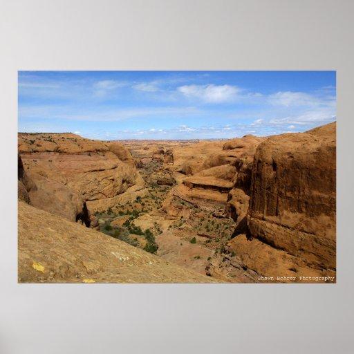 Endless Canyon Poster