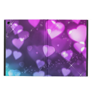 Endless Floating Hearts iPad Air Covers