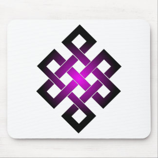 Endless knot mouse pad