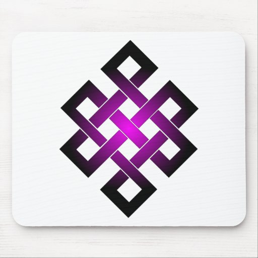 Endless knot mouse pads