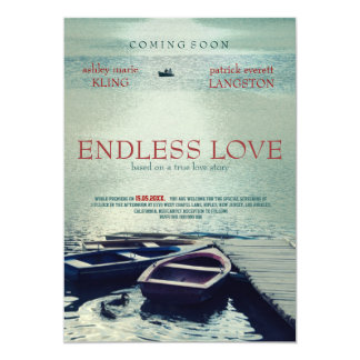 ENDLESS LOVE poster movie style Card