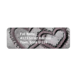 Endless Love Return Address Label