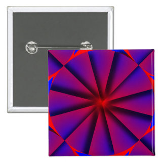 Endless Pinwheel by Kenneth Yoncich 15 Cm Square Badge