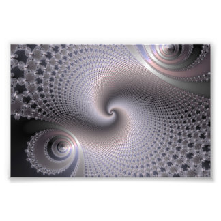 Endless Spirals - Fractal Art Photo Art