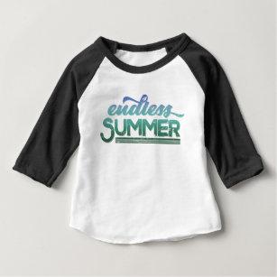 e4e8614adb5 Endless Summer Vintage Typography Baby T-Shirt