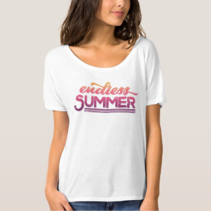 0656cb49bed Endless Summer Vintage Typography T-Shirt