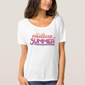 Endless Summer Vintage Typography Tee Shirt
