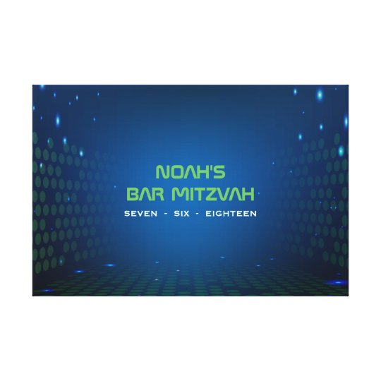 ENDLESS VIDEO GAMING Bar Mitzvah Sign In Board