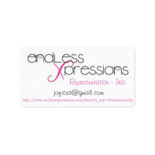 Endless Xpressions Avery Print-to-the-Edge Address Label
