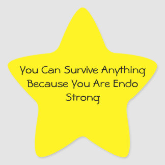 Endo Star Sticker-Endo Strong Star Sticker