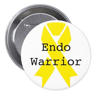 Endo Warrior 7.5 Cm Round Badge