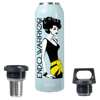ENDO WARRIOR Thermo (0.5L), Teal Insulated Water Bottle