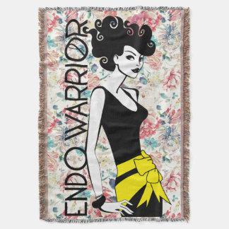ENDO WARRIOR Throw Blanket