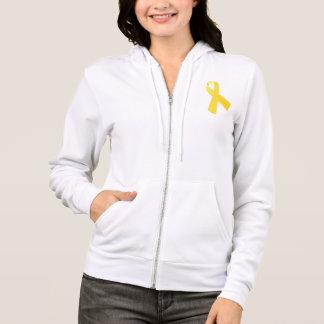 Endo Warrior Yellow Ribbon Hoodie Endometriosis