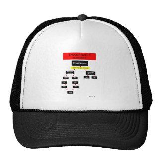 Endocrine Systems Hormones Trucker Hats