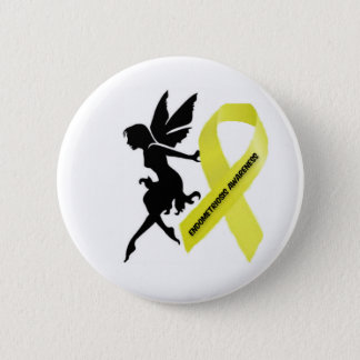Endofaery endo awareness 6 cm round badge