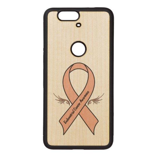 Endometrial Cancer Awareness Wood Nexus 6P Case