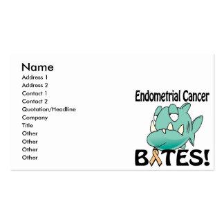 Endometrial Cancer BITES Pack Of Standard Business Cards