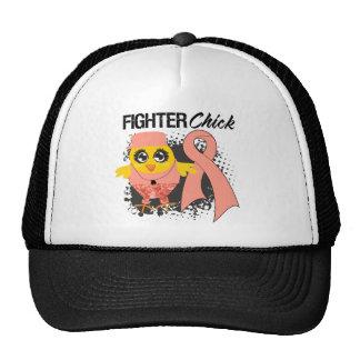 Endometrial Cancer Fighter Chick Grunge Mesh Hat