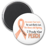 Endometrial Cancer For Every…..I Proudly Wear Peac Magnet