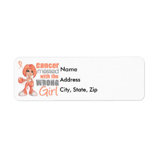 Endometrial Cancer Messed With Wrong Girl Return Address Label