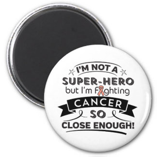 Endometrial Cancer Not a Super-Hero 2 Inch Round Magnet
