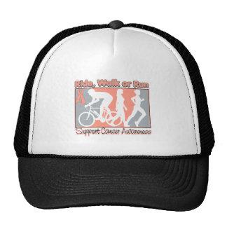 Endometrial Cancer Ride Walk Run Trucker Hat